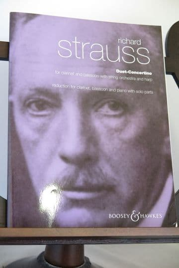 Strauss R - Duet Concertino for Clarinet Bassoon & Piano